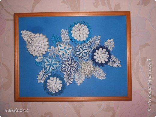 Квиллинг зимний сад фото 1