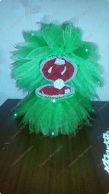 Давно хотелось создать куклу-шкатулку. Вот предоставился шанс - случилось день рождения у милой маленькой девочки, моей крестницы. Она обожает всяких фей, вот и пришла идея сделать лесную фею. фото 3