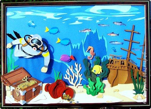 Зимний пейзаж. Размер работы 32х43 см. фото 36