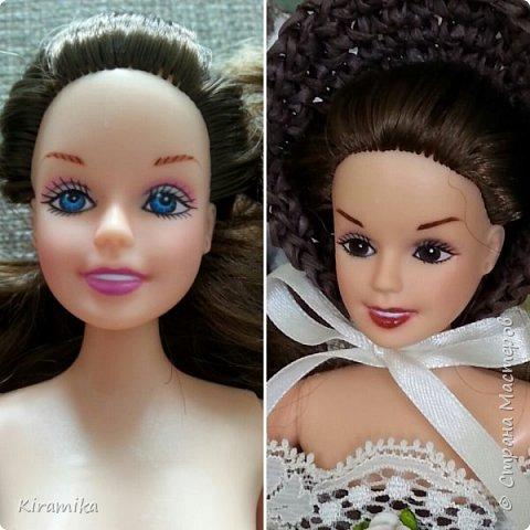 Новое личико для куклы-шкатулки)