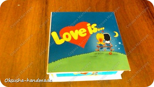 Мини-шоко-комплимент LOVE IS... фото 11