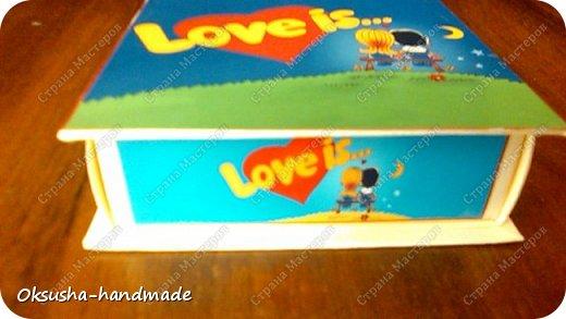 Мини-шоко-комплимент LOVE IS... фото 12