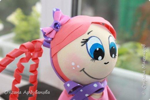 Первая моя кукла из фоамирана! фото 3