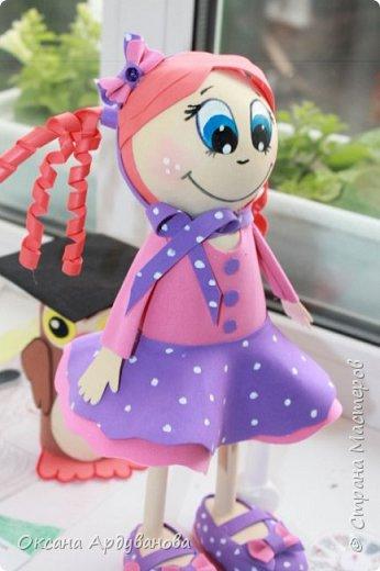 Первая моя кукла из фоамирана! фото 2