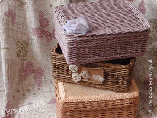 Добрый день уважаемые Мастера! Плетеная шкатулка, наполненная вкусными конфетами -что может быть лучше для небольшого презента) Размеры коробочки 22:16 h- 12 фото 1