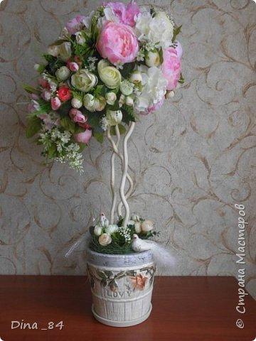 Топиарии цветочные. хорошее настроение) фото 5