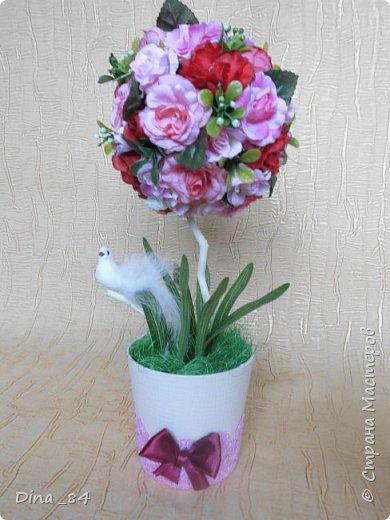Топиарии цветочные. хорошее настроение) фото 6