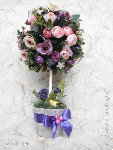 Топиарии цветочные. хорошее настроение) фото 7