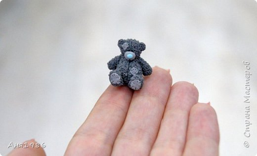 Мишка Тедди миниатюра