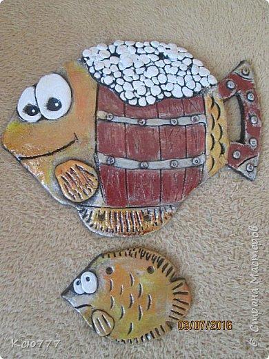 """Вот такая вот """"рыбка к пиву"""" у меня получилась... Автору идеи - огромное спасибо! К сожалению, не знаю ее имени. фото 1"""