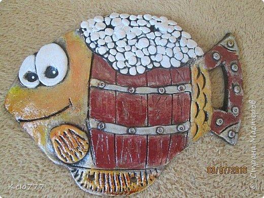 """Вот такая вот """"рыбка к пиву"""" у меня получилась... Автору идеи - огромное спасибо! К сожалению, не знаю ее имени. фото 2"""