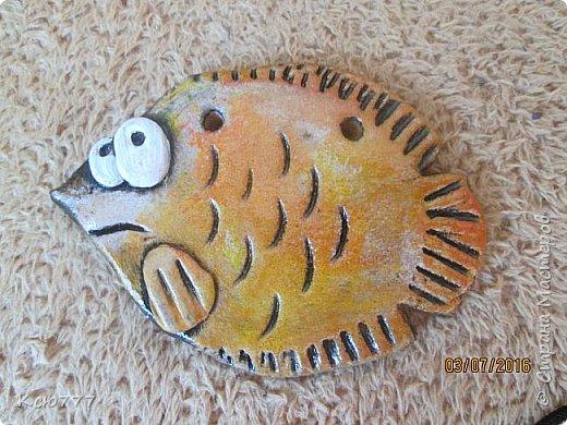 """Вот такая вот """"рыбка к пиву"""" у меня получилась... Автору идеи - огромное спасибо! К сожалению, не знаю ее имени. фото 3"""