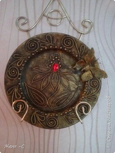 пейп арт тарелочки фото 2