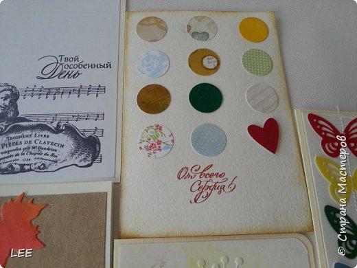Идею взяла у Натальи Дубровской из Питера. Замечательный скрапер! Вот такой магнит-календарь у меня получился. Это еще не доделан, не все месяцы пронумерованы ;) прикидывала как будет смотреться на холодильнике. фото 15