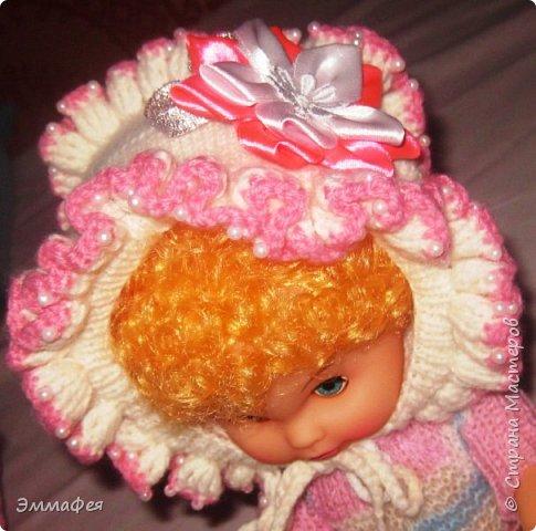 Выписное одеялко для моей принцессы связала бабушка. фото 6