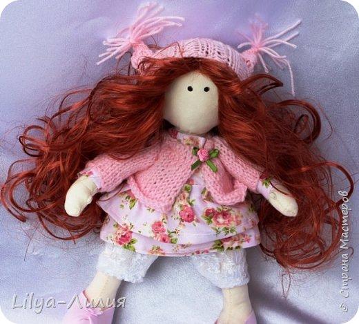Давно хотела такую куколку, прям мечтала о ней. И вот теперь у меня есть рыжая красотка.  Конечно не все идеально и косячков достаточно, но главное я ее сделала.  фото 2