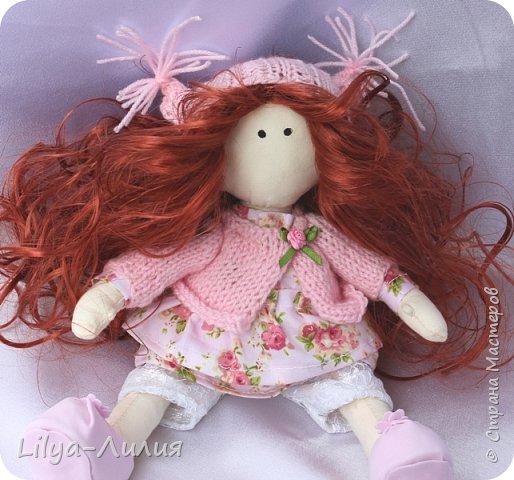 Давно хотела такую куколку, прям мечтала о ней. И вот теперь у меня есть рыжая красотка.  Конечно не все идеально и косячков достаточно, но главное я ее сделала.  фото 3