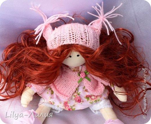 Давно хотела такую куколку, прям мечтала о ней. И вот теперь у меня есть рыжая красотка.  Конечно не все идеально и косячков достаточно, но главное я ее сделала.  фото 4