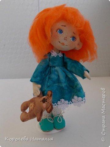 Кукла Рыжуля фото 2