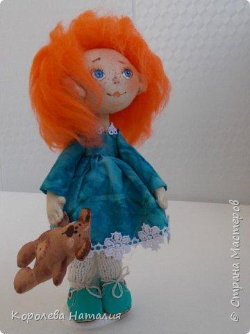 Кукла Рыжуля фото 1
