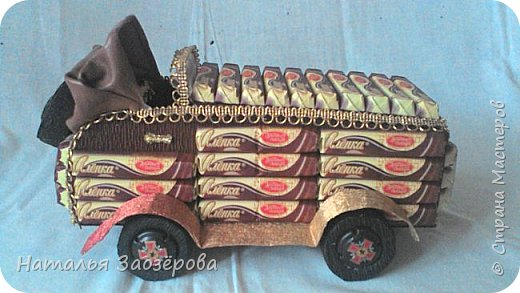 Машина из конфет фото 3