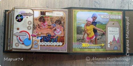 Ну, наконец-то я могу показать свой альбомчик про двух сестричек, который я делала в подарок для своей подруги - на ДР одной из сестер. Закончила свой знатный долгострой! Уже подарено, Кате очень понравилось - теперь и вам покажу. фото 62