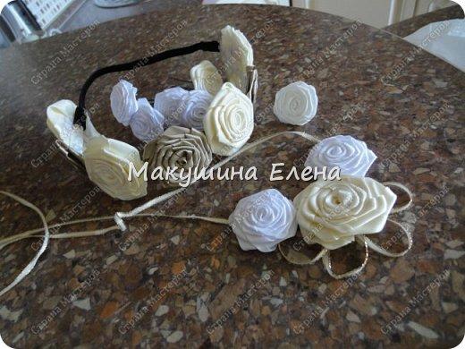 Резинка для головы, шпильки, колечко, украшение на шею фото 1