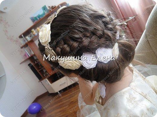 Резинка для головы, шпильки, колечко, украшение на шею фото 2