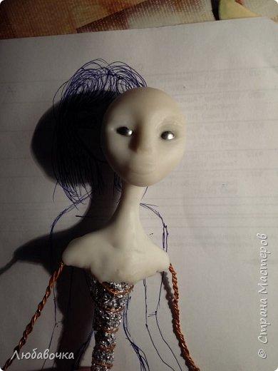 Интерьерная кукла (Моя первая куколка!) фото 18