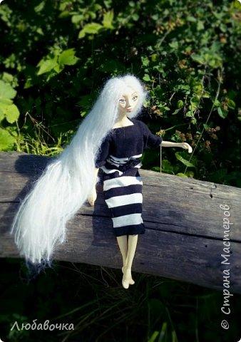 Интерьерная кукла (Моя первая куколка!) фото 5