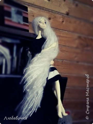 Интерьерная кукла (Моя первая куколка!) фото 3