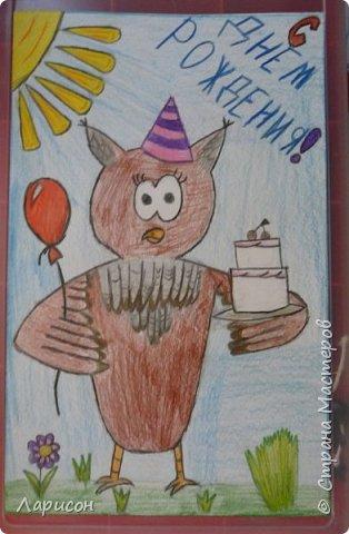 В подарок на день рождения Мария связала мудрую сову! Такая красоточка получилась... фото 4
