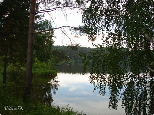 Летний вечер тих и ясен; Посмотри, как дремлют ивы; Запад неба бледно-красен, И реки блестят извивы.  От вершин скользя к вершинам, Ветр ползет лесною высью...  (А. Фет)  фото 5