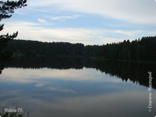 Летний вечер тих и ясен; Посмотри, как дремлют ивы; Запад неба бледно-красен, И реки блестят извивы.  От вершин скользя к вершинам, Ветр ползет лесною высью...  (А. Фет)  фото 12