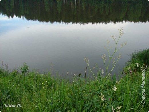 Летний вечер тих и ясен; Посмотри, как дремлют ивы; Запад неба бледно-красен, И реки блестят извивы.  От вершин скользя к вершинам, Ветр ползет лесною высью...  (А. Фет)  фото 18