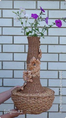 не судите строго - мою первую вазу фото 1