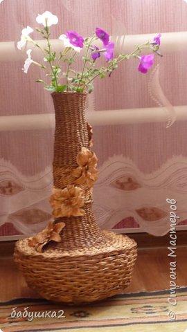 не судите строго - мою первую вазу фото 3