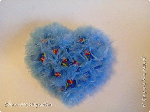 Сердечки с жвачками Лов из.  Для мальчика и девочки,  валентинки своего рода.  фото 2
