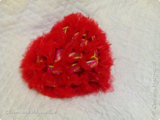 Сердечки с жвачками Лов из.  Для мальчика и девочки,  валентинки своего рода.  фото 5