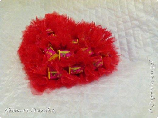 Сердечки с жвачками Лов из.  Для мальчика и девочки,  валентинки своего рода.  фото 4