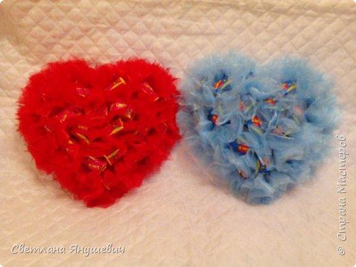 Сердечки с жвачками Лов из.  Для мальчика и девочки,  валентинки своего рода.  фото 6