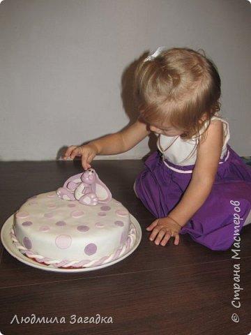 Вот такой торт у меня получился к Дню рождения моей доченьки) фото 1
