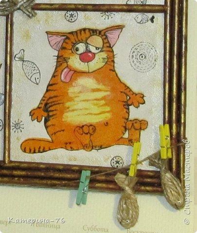 Доброго Вам времени суток, дорогие соседи! Я к вам с шуточным панно про кота-рыбака... Это панно делала для одного хорошего человека на работе как подарок на день рождения.... фото 10