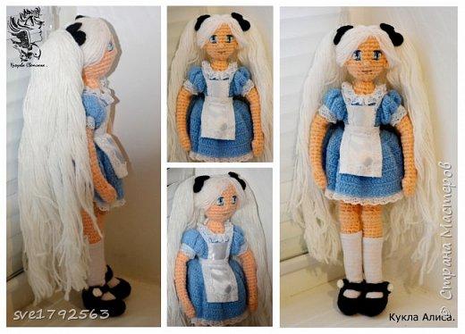Кукла авторская , связала ко дню рождения своей маленькой дочке Алисе ! Хоть она и мала ещё , но куколка ей очень понравилась . Надеюсь и вам мои гости ,она тоже понравится , и придёт по душе. — Не грусти, — сказала Алисa. — Рано или поздно все станет понятно, все станет на свои места и выстроится в единую красивую схему, как кружева. Станет понятно, зачем все было нужно, потому что все будет правильно. фото 1