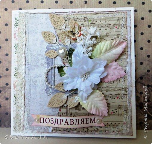 Универсальная  открытка в сиреневых тонах... фото 15
