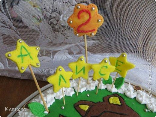 Добрый день СМ! Хочу показать вам очередную  вкусняшку - тортик для доченьки подруги. Кулинар с меня не ахти какой, но вот как-то так вышло) фото 3