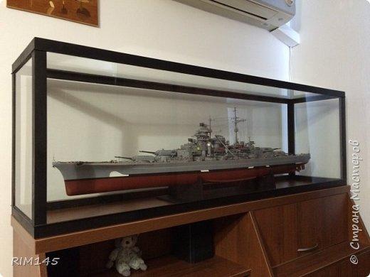После постройки модели пришлось сделать перестановку в комнате и заказать специальный комод под модель. фото 1
