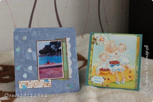 Альбомчик и открыточка фото 1