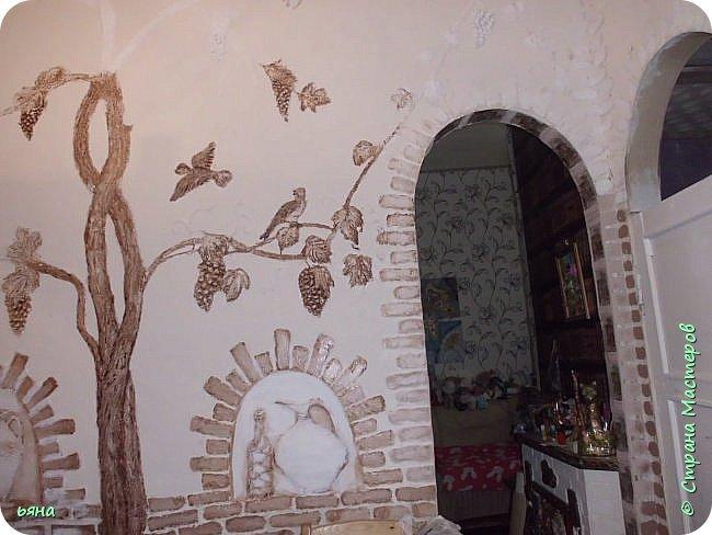 Так на кухне у меня появился танцующий журавль...... фото 3