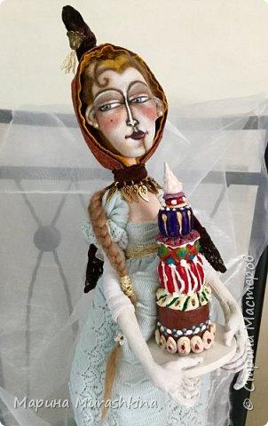 Давненько не заглядывала. За это время сшились две куколки из моего проекта по иллюстрациям Дэвида Галчутта.  Вот это первая. У меня эта красавица ассоциировалась почему-то с Венецией)), поэтому и название такое.  фото 5